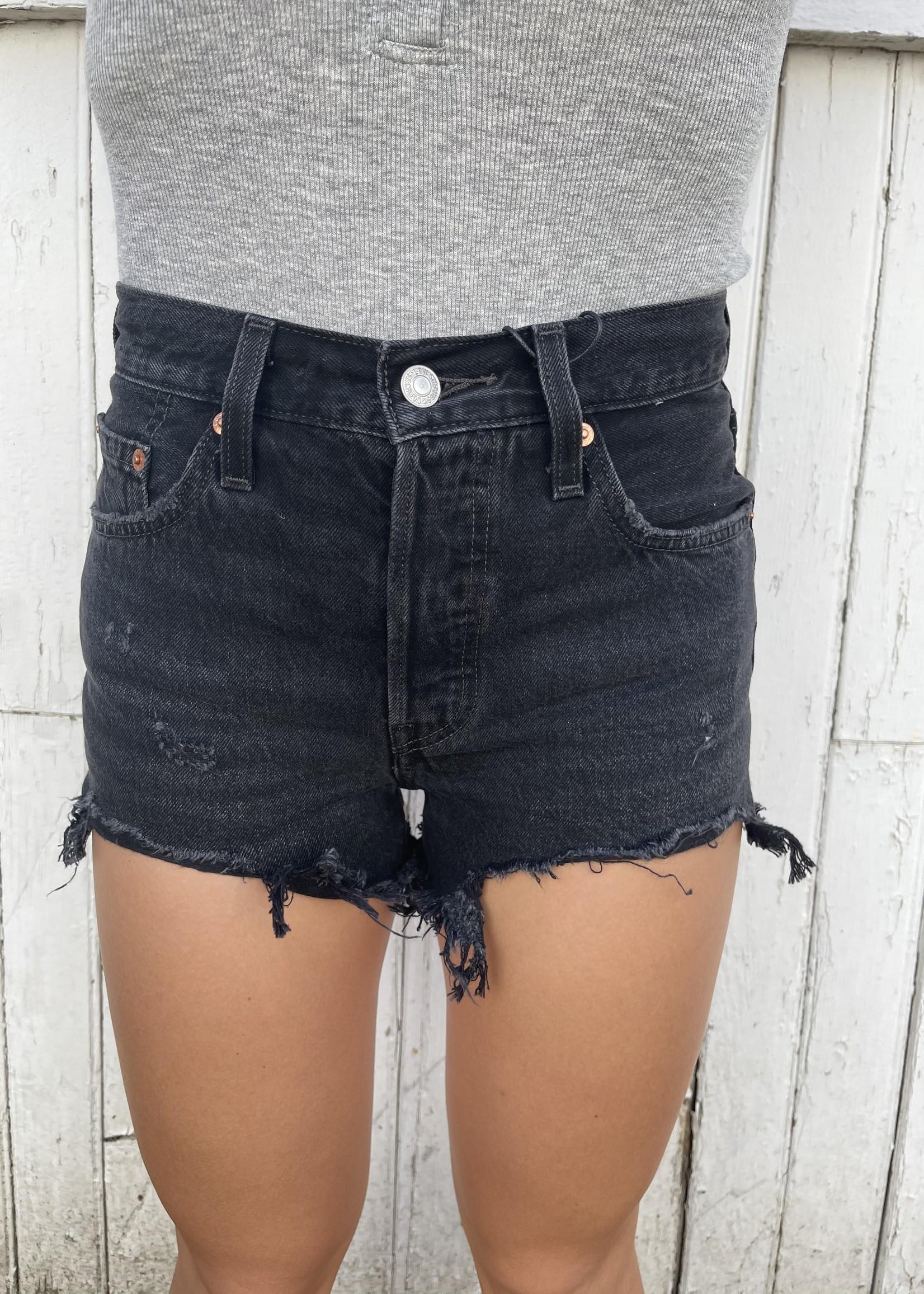 Levi's 501 hi rise cutoff shorts