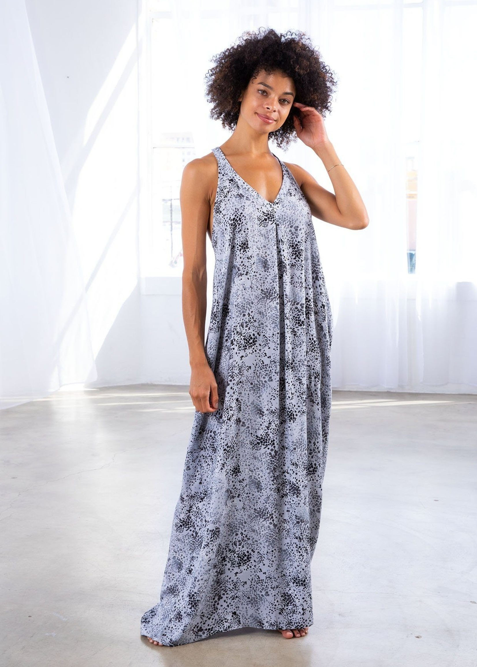 Mulberry Maxi Dress