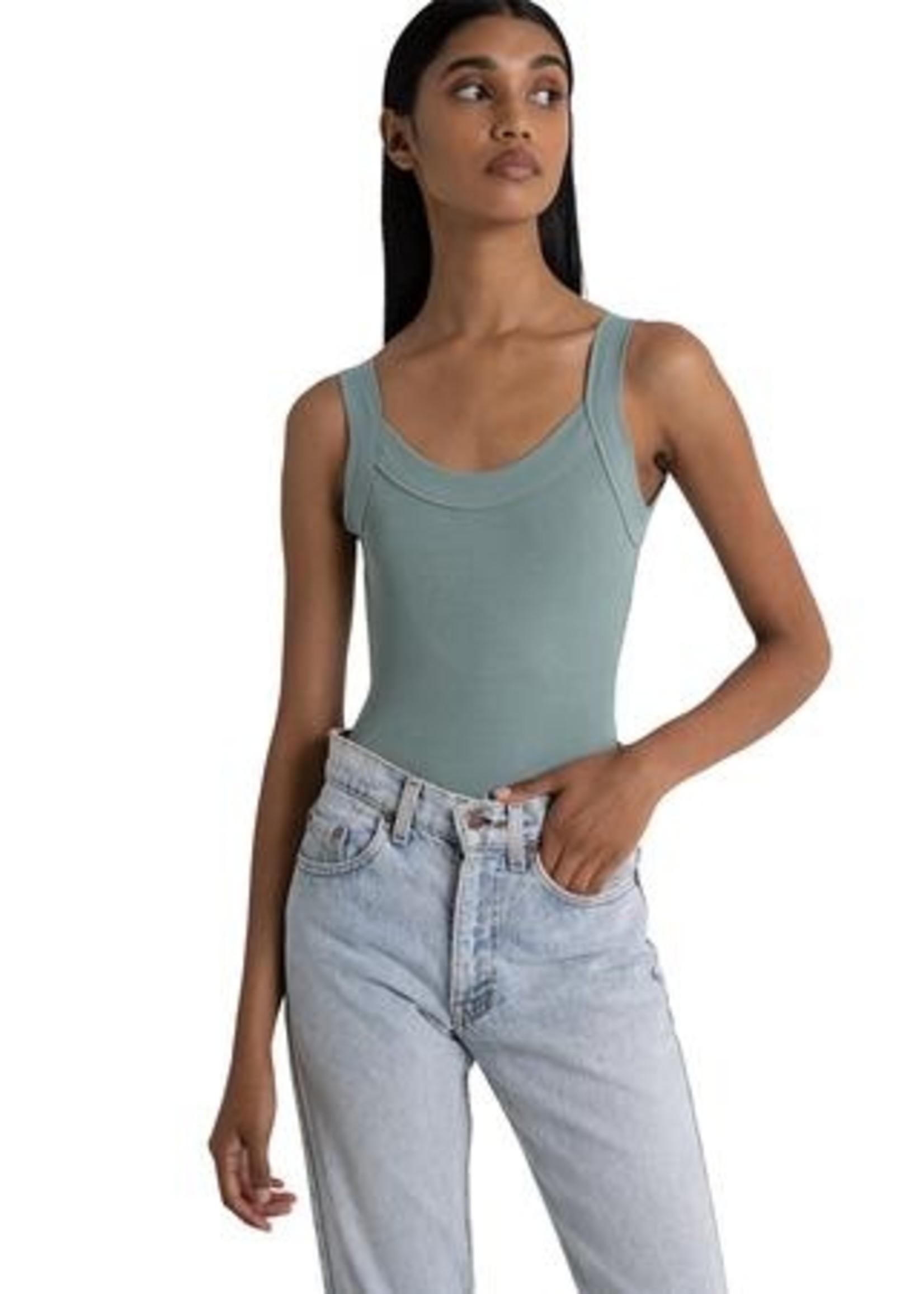 Lola Singlet Bodysuit - SEAFOAM