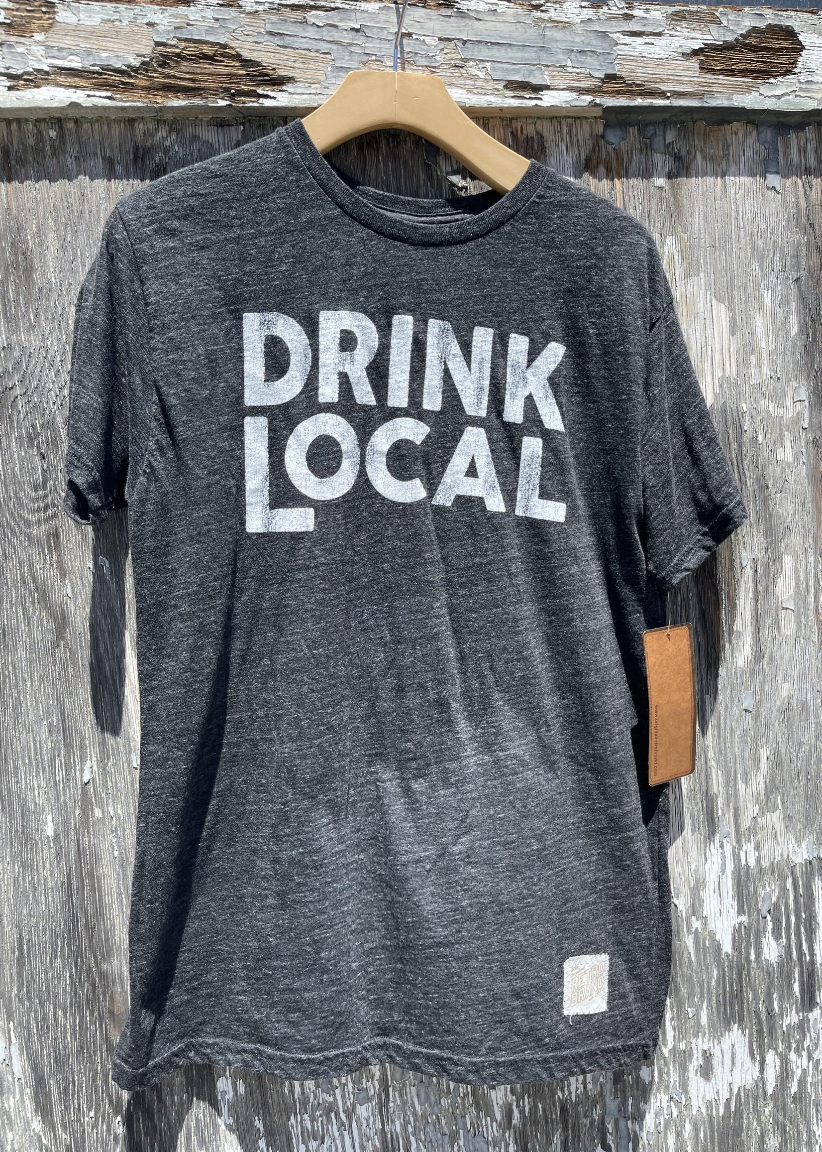 Retro Brand Drink Local Mens Tee