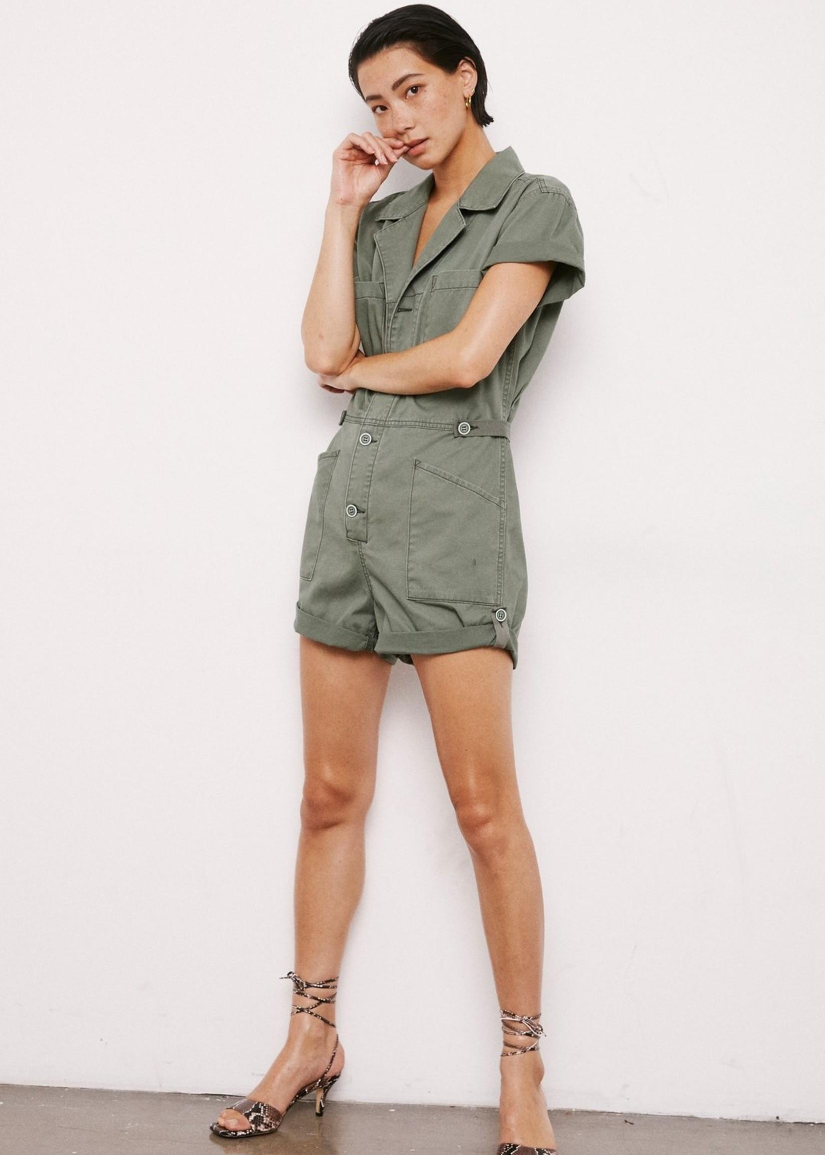 Parker Field Suit Short in Colonel