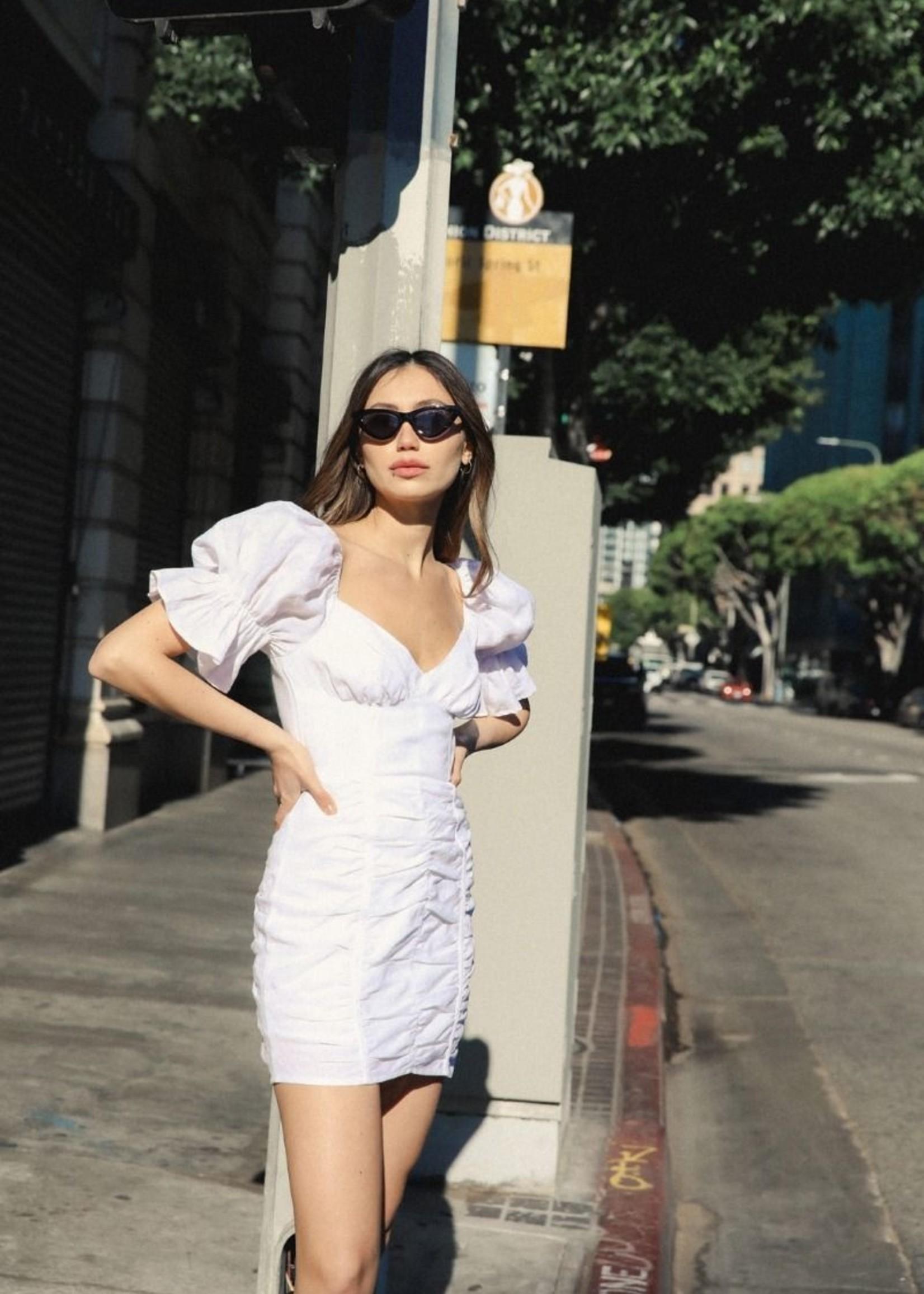 Brielle Dress- White