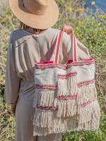 Seashore Fringe Tote Bag