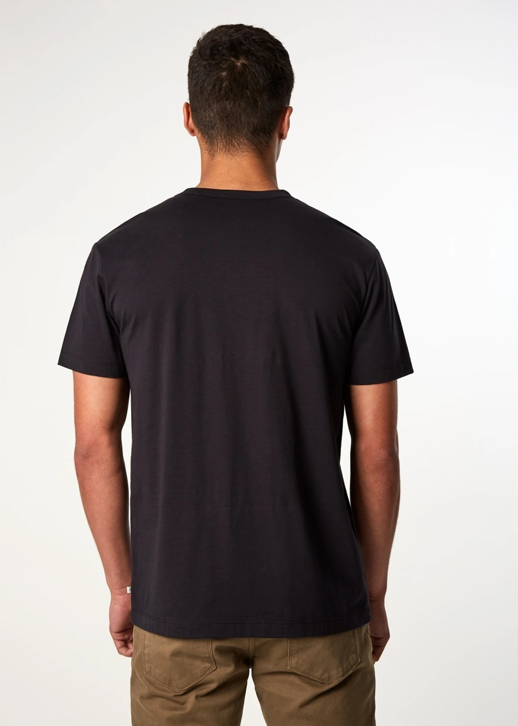 7 Diamonds Iqonicq Supima T-Shirt- Black