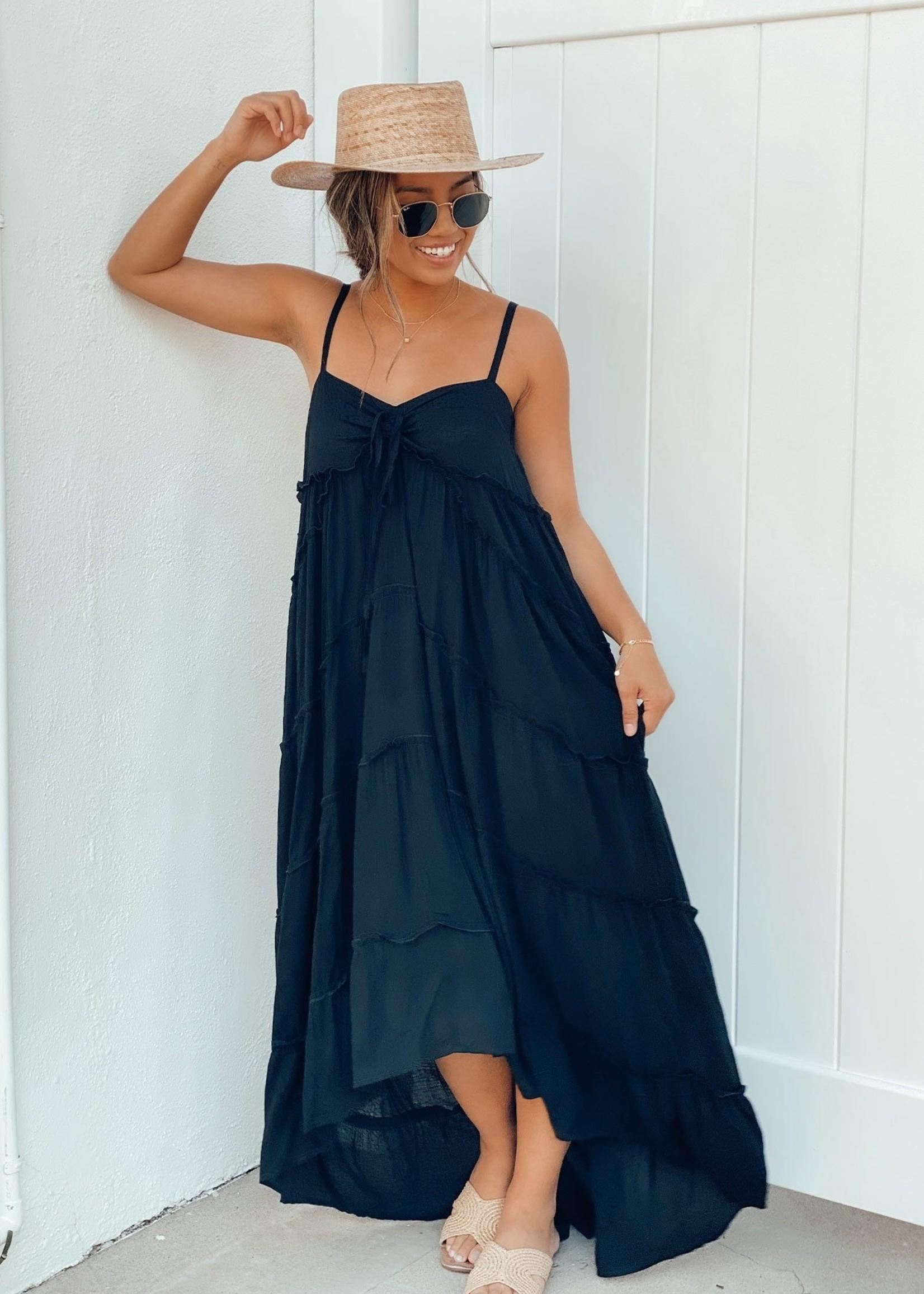 Low Tide Tiered Maxi Dress