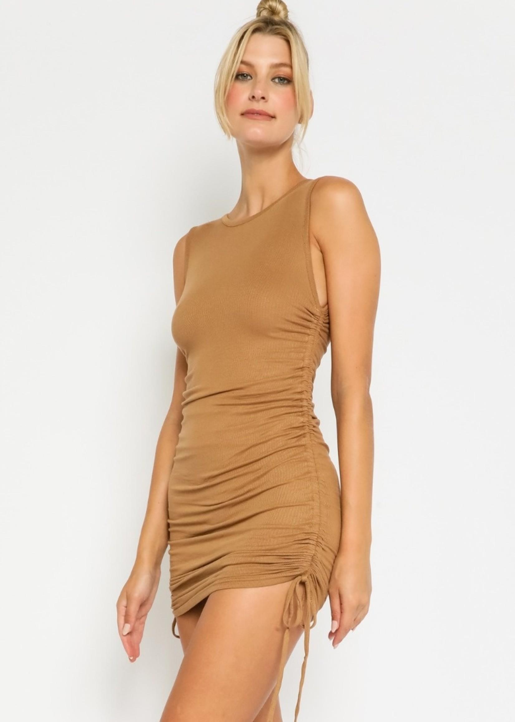 Penelope Dress- Taupe