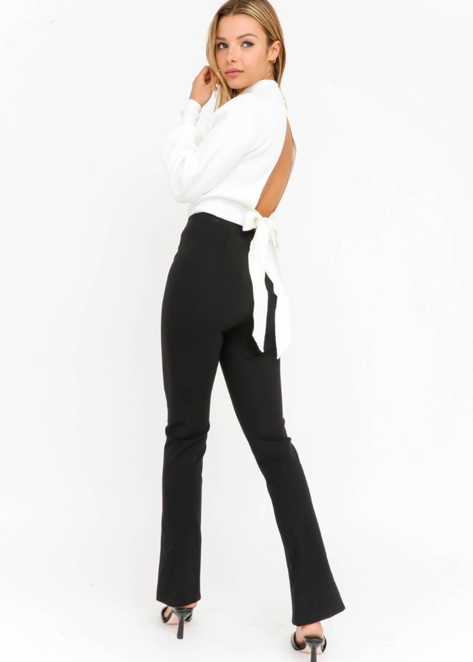 Leg Slit Trousers