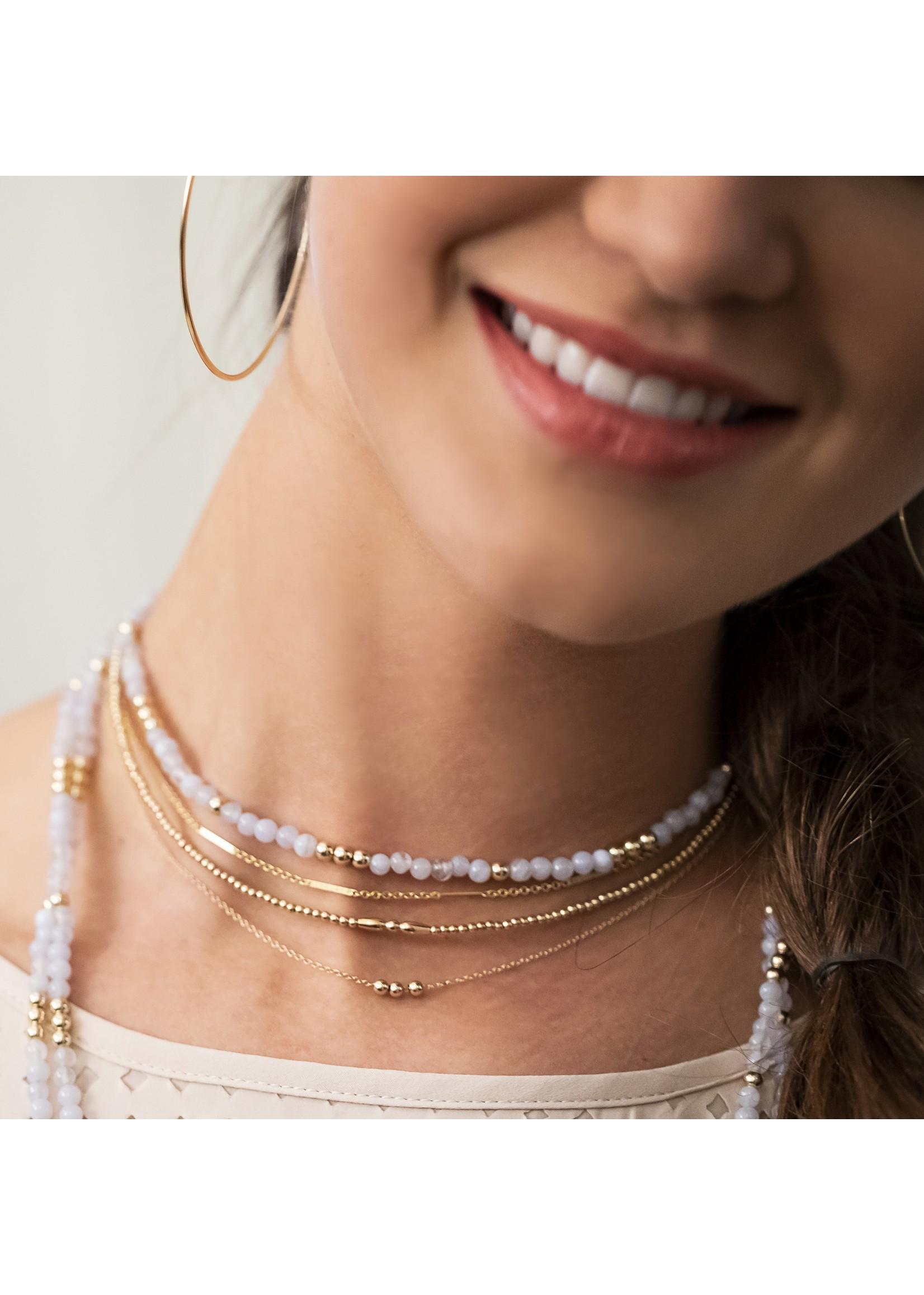 """enewton 16"""" Necklace Gold - Joy"""