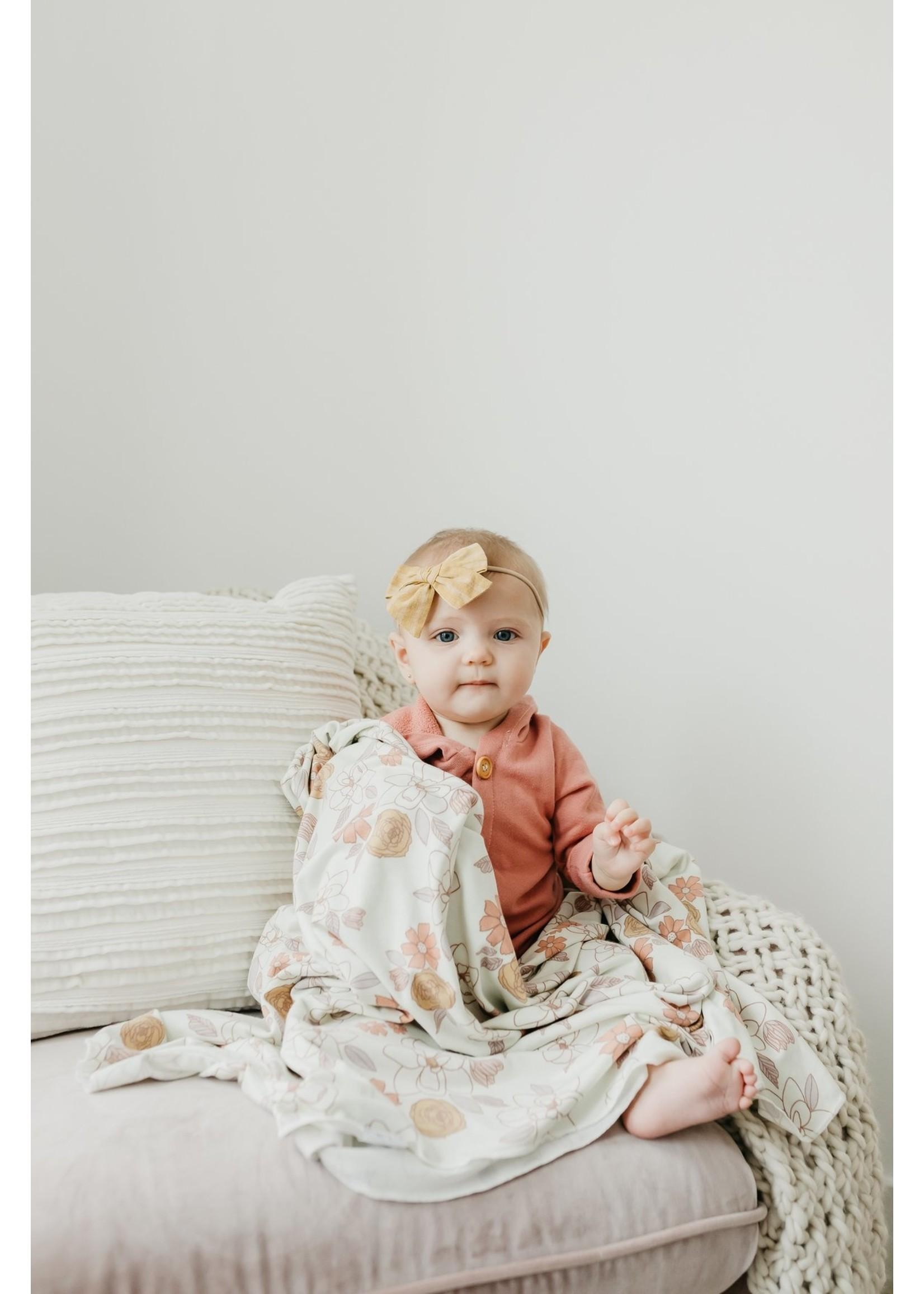 Copper pearl Swaddle Blanket - Ferra