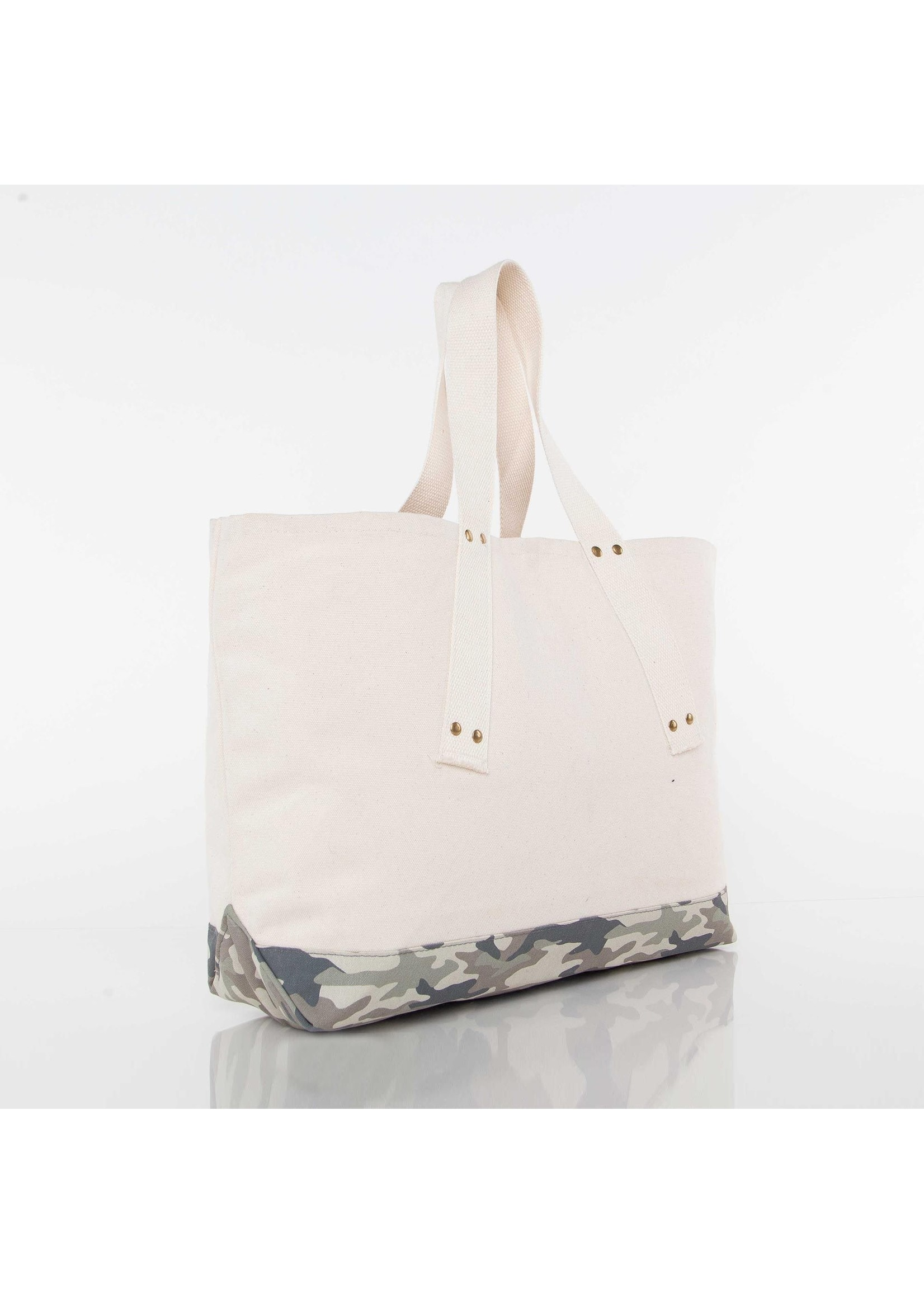 CB Station Camo Canvas Tote Bag