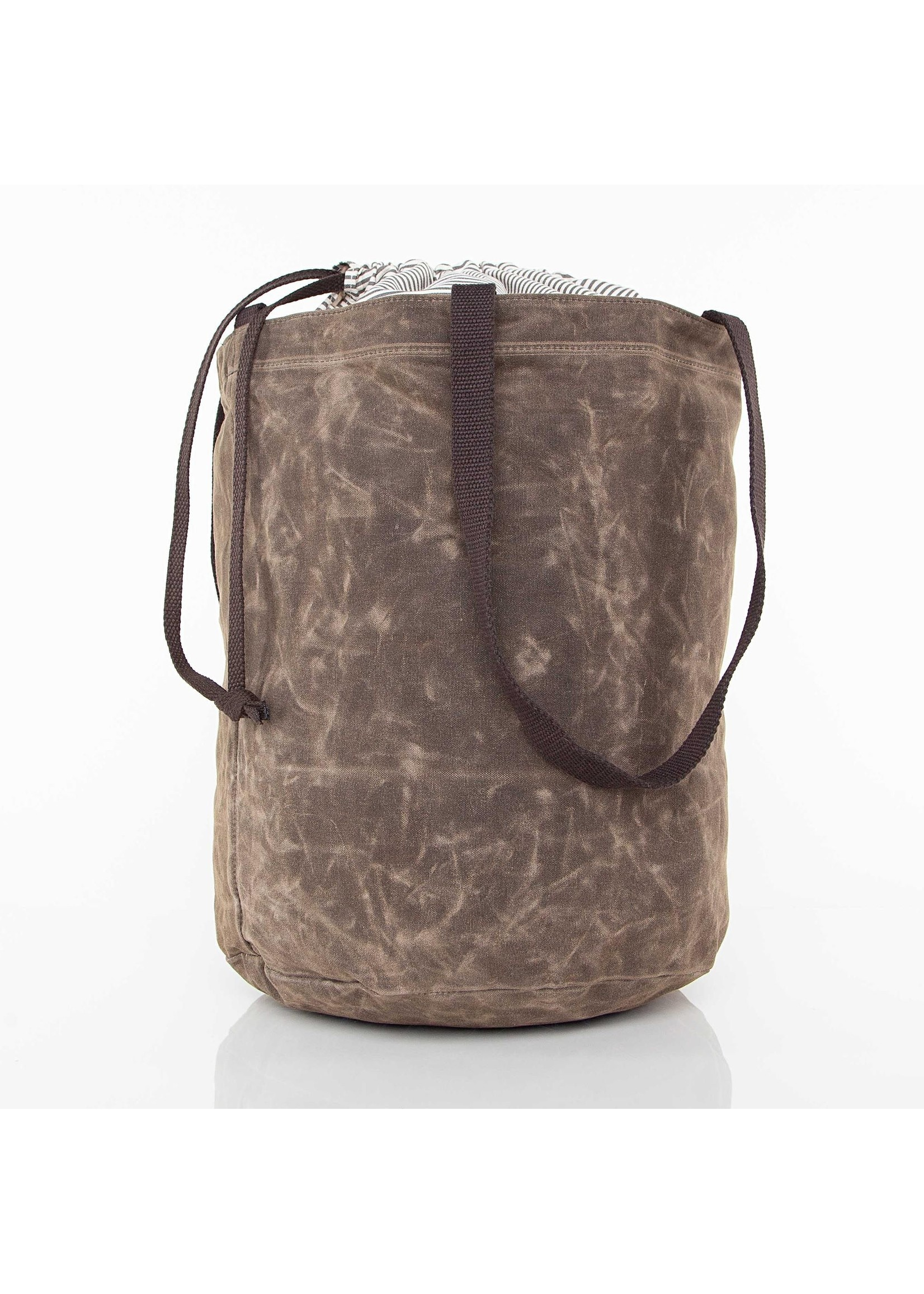 CB Station Waxed Laundry Tote - Olive