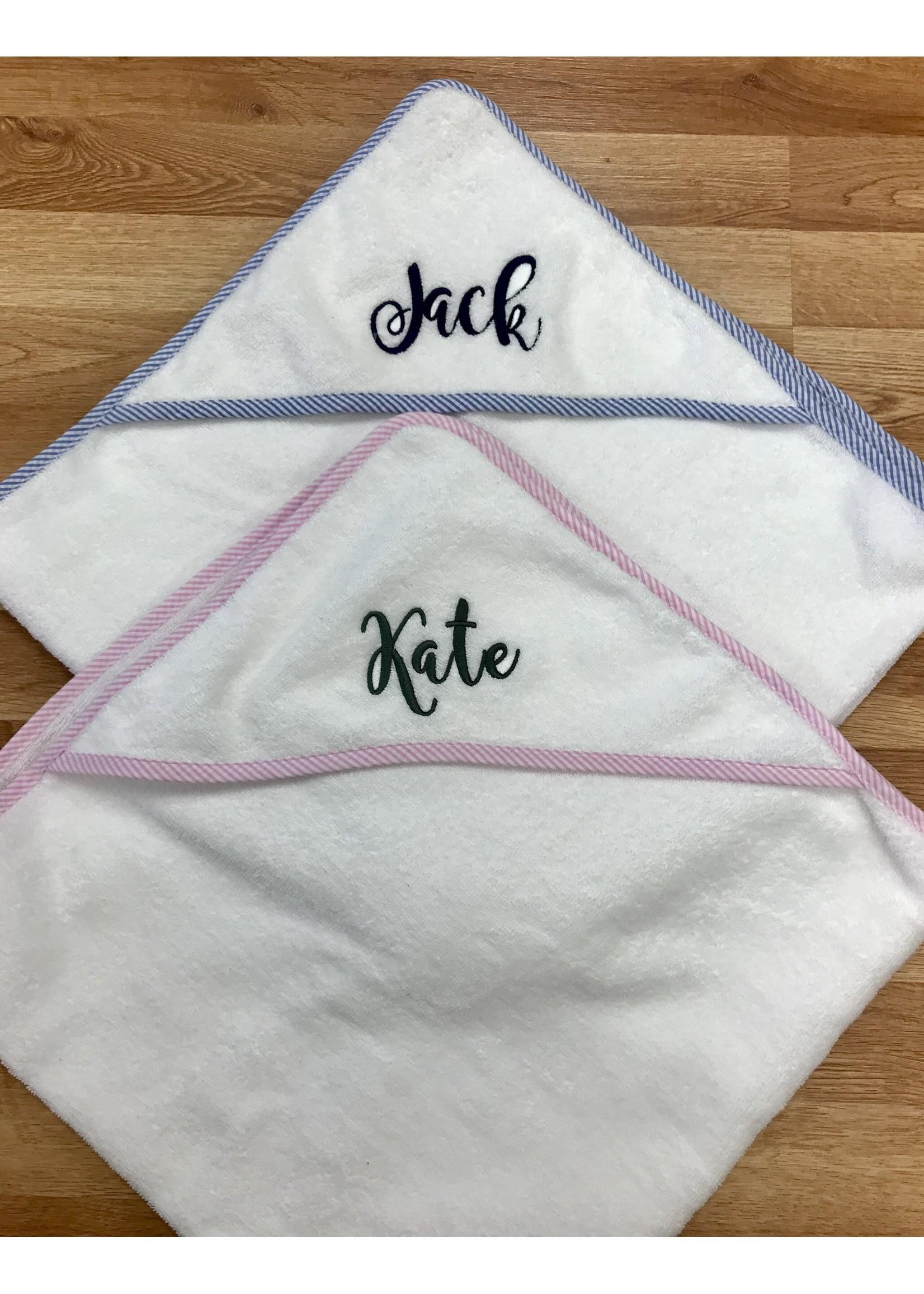 Hooded Towel w/ Monogram