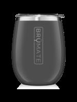 Brumate Uncork'd Wine Tumbler Charcoal Gray