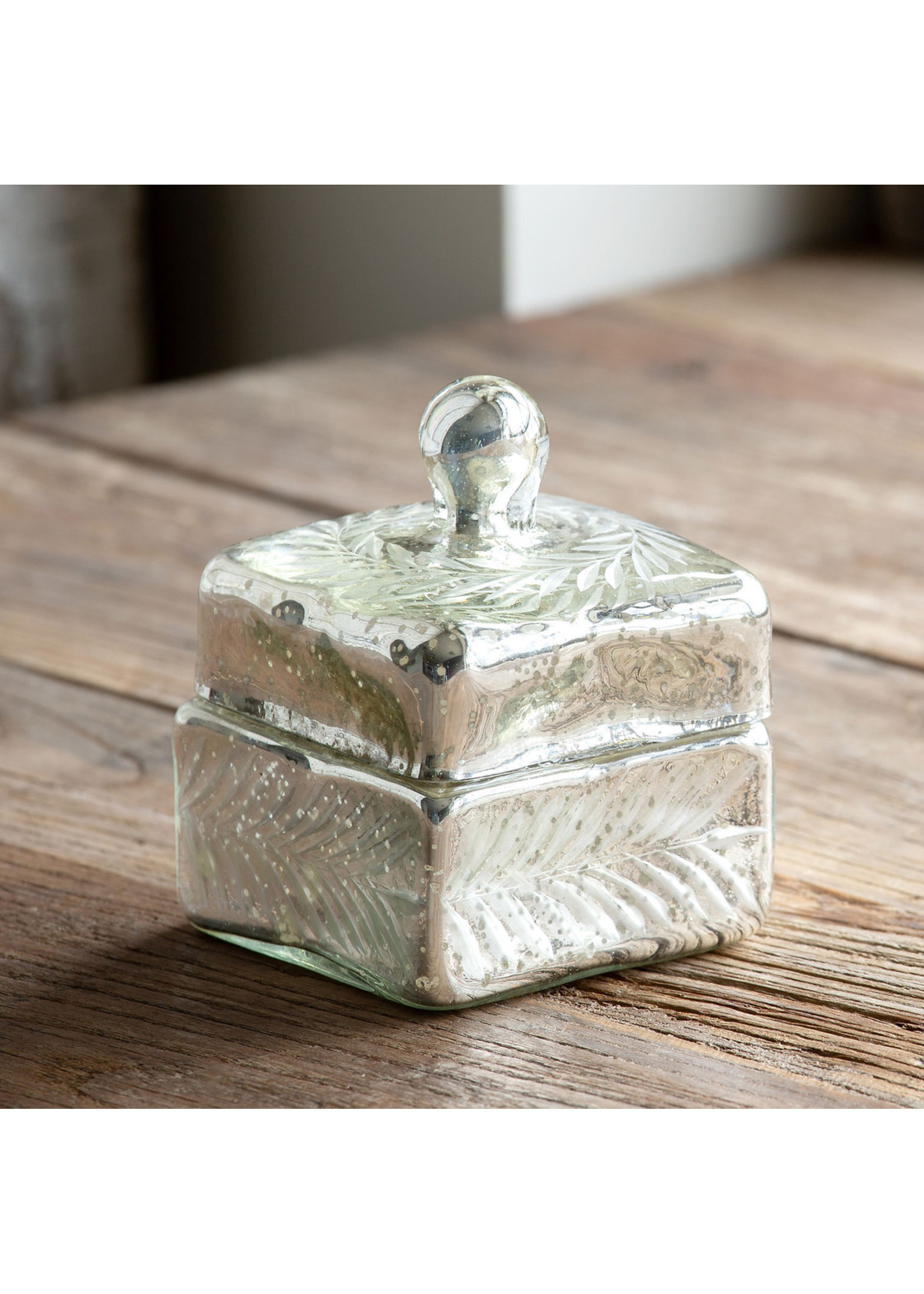 Park Hill Antique Glass Canister