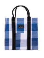 scout by bungalow Scout Totes-Ma-Goat Navy Check