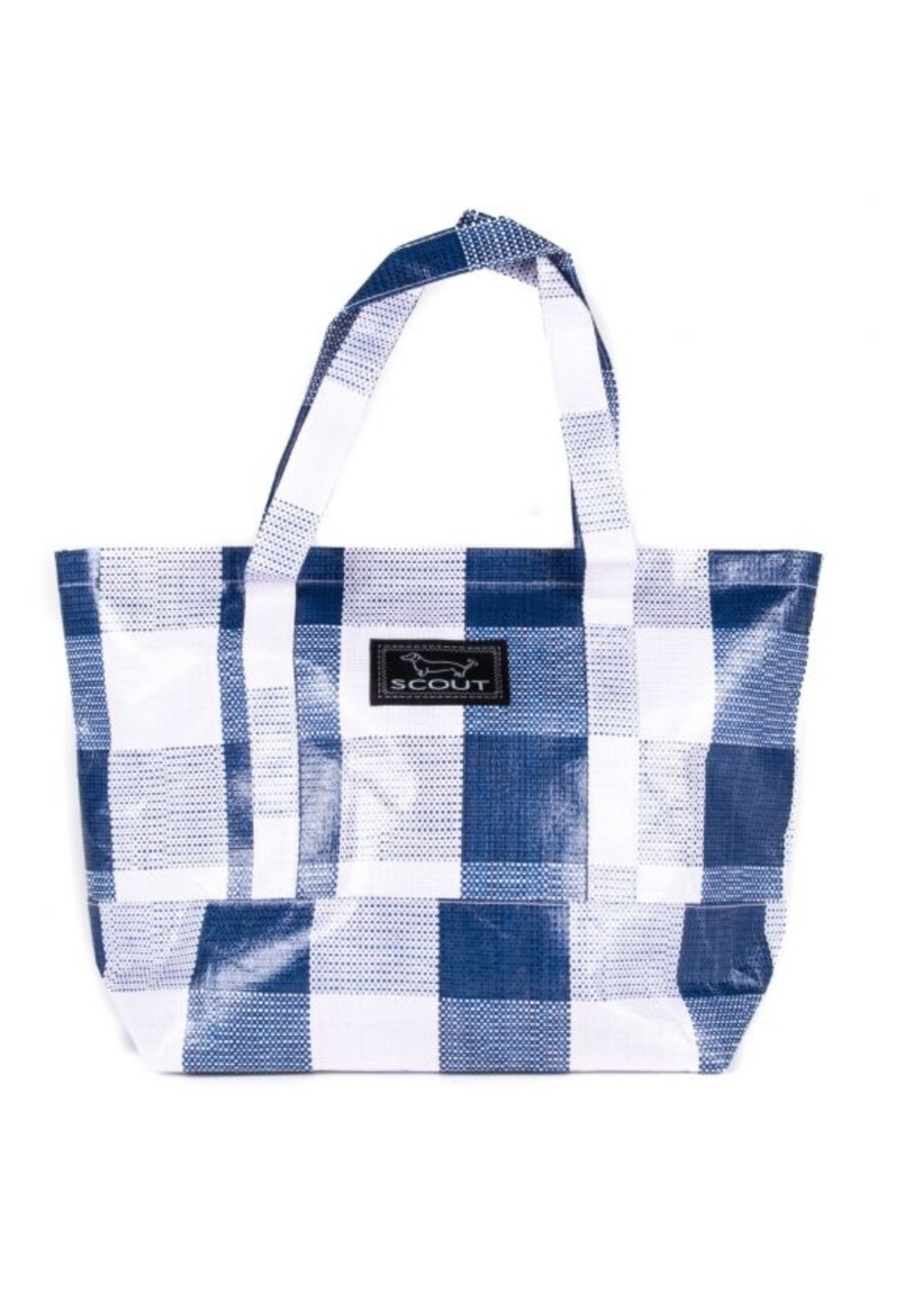 scout by bungalow Scout Toteworthy Navy Check