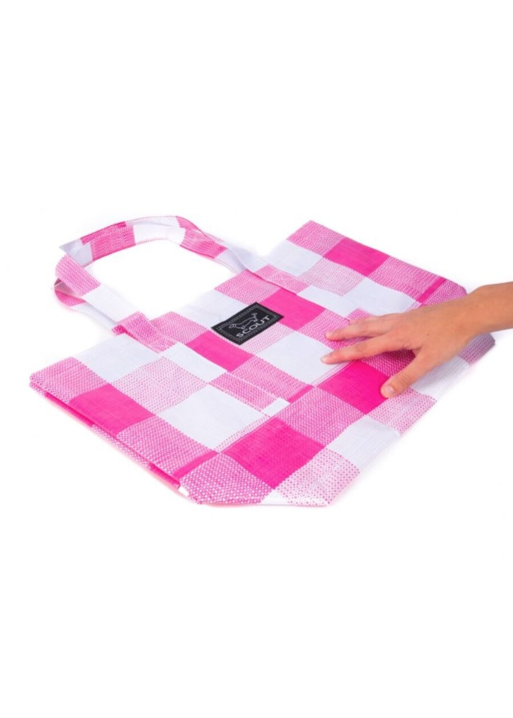 scout by bungalow Scout Toteworthy Pink Check