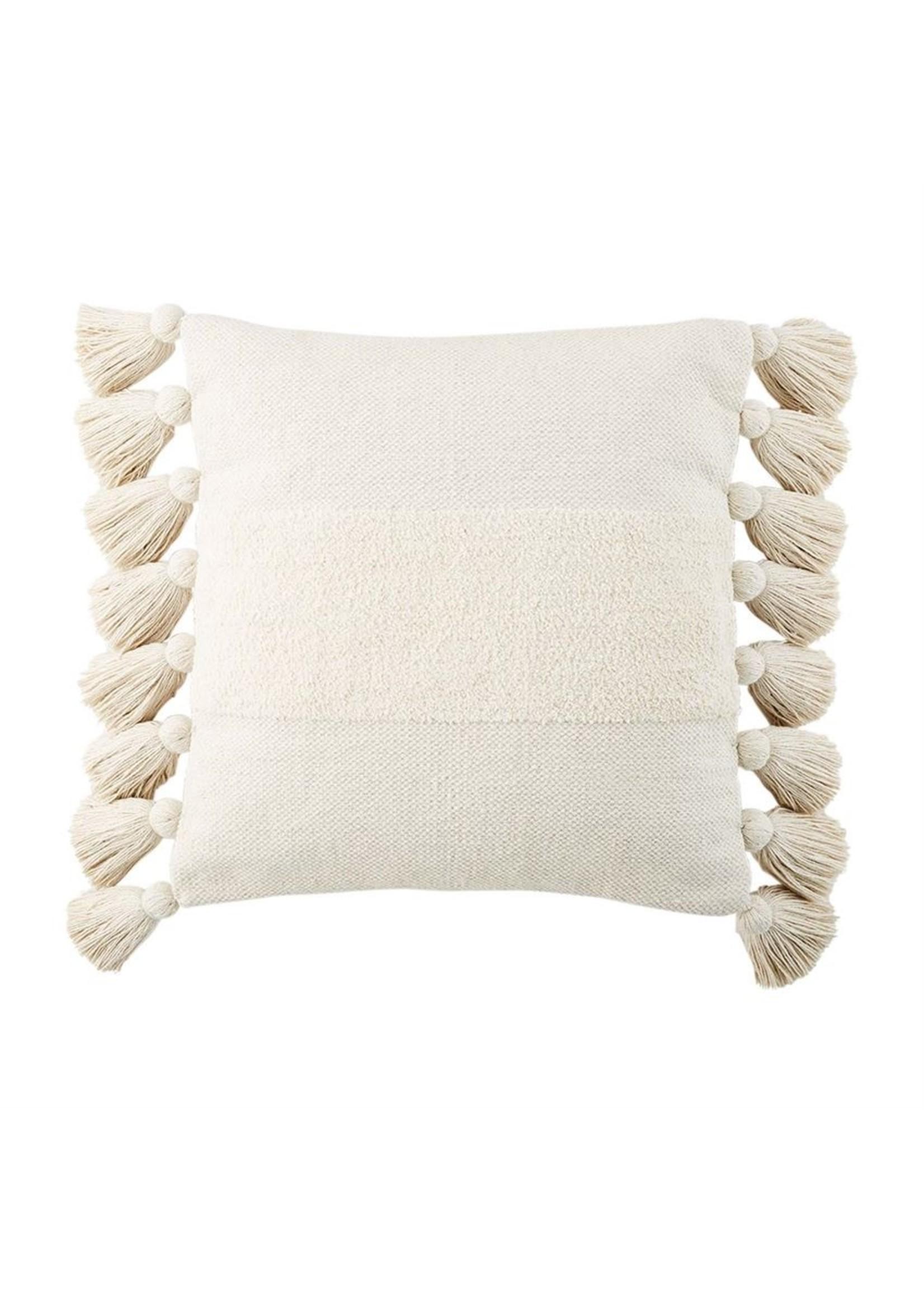 Mudpie Tassel Chenille Pillow