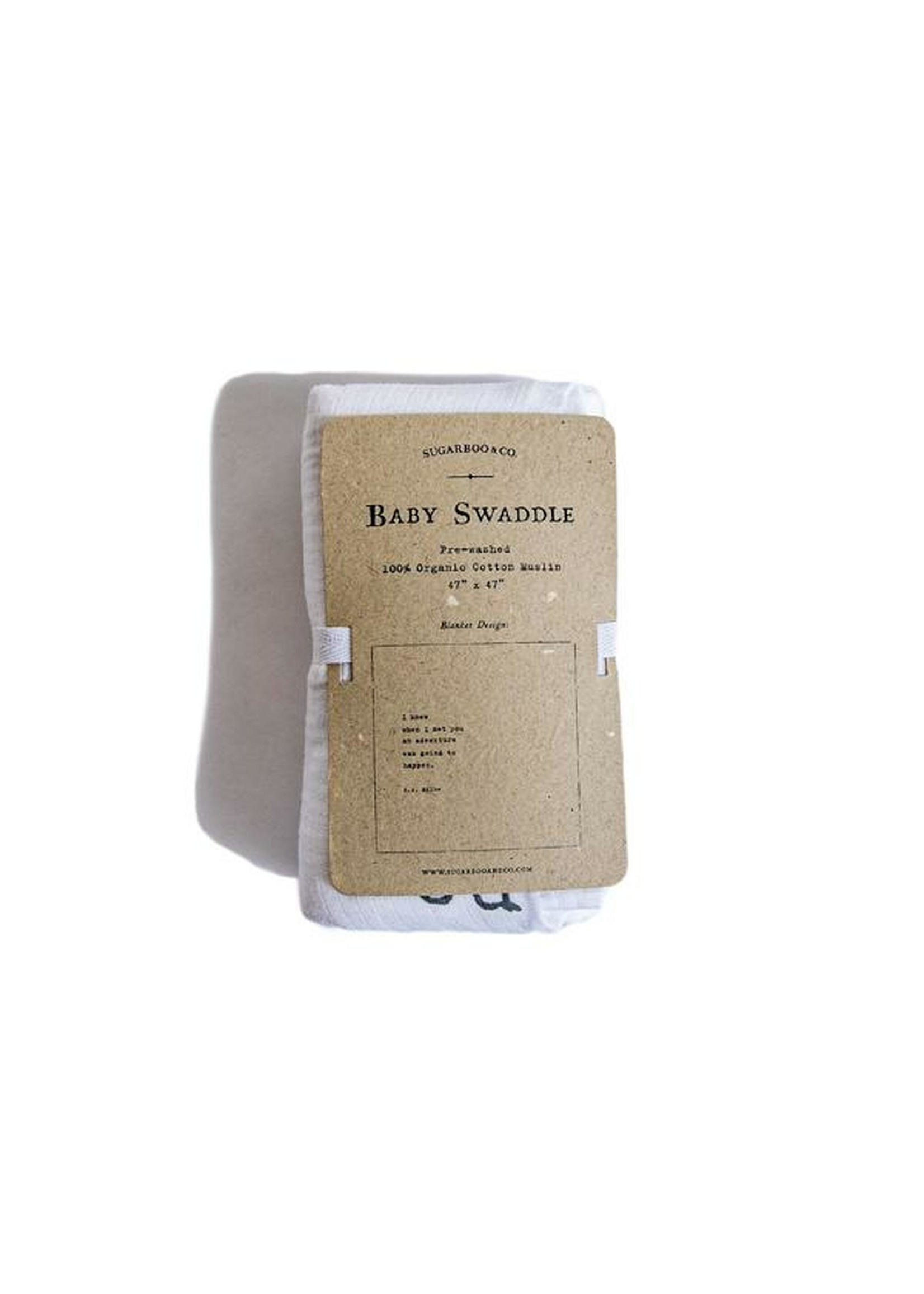 Sugarboo Sugarboo & Co. Organic Swaddle - A.A. Milne