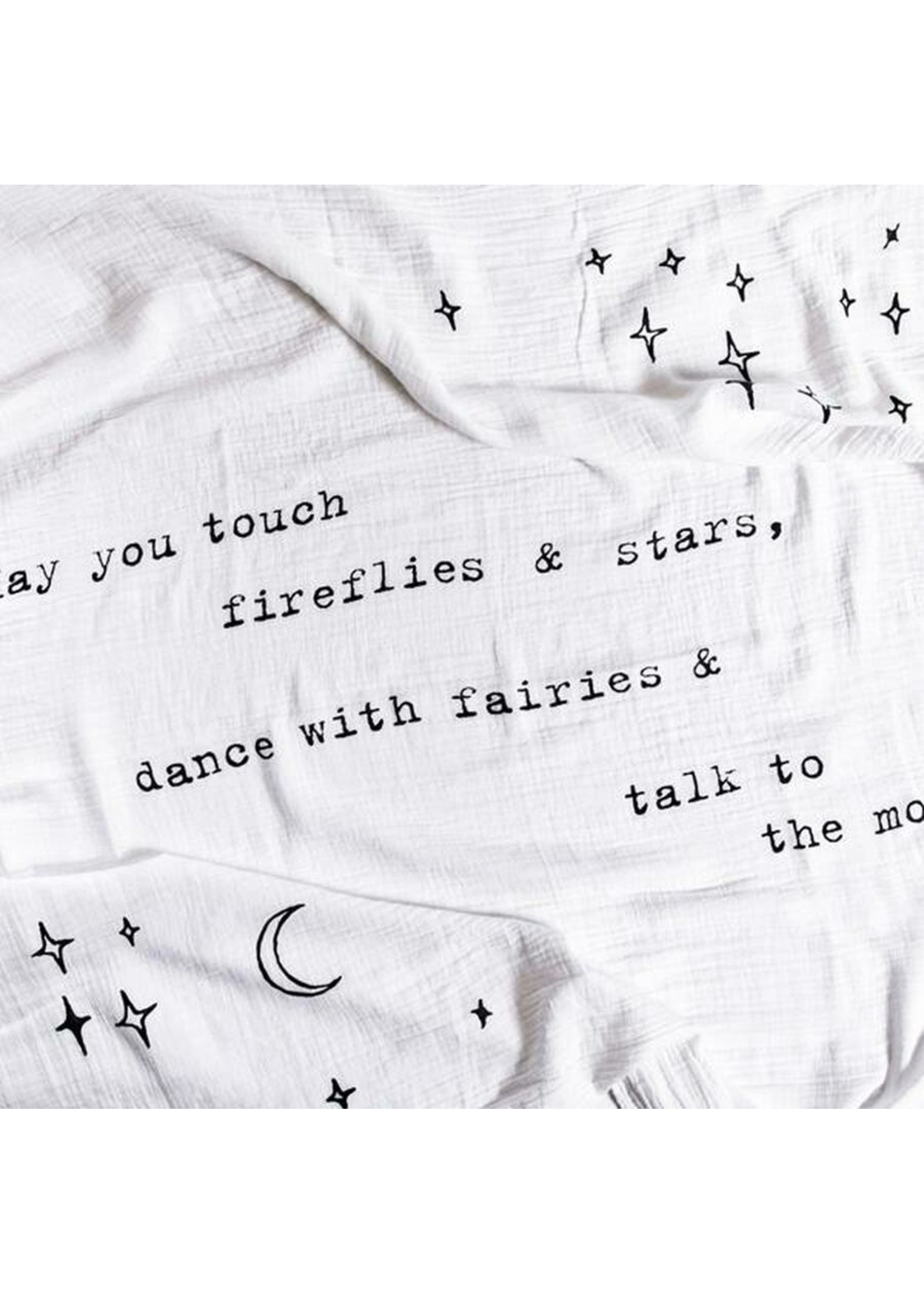 Sugarboo Sugarboo & Co. Organic Swaddle - May You Touch Fireflies