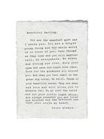 Sugarboo Sugarboo & Co. Paper Print - Beautiful Darling