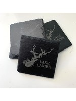 birch and boulder Lake Slate Coaster ( set of 4)