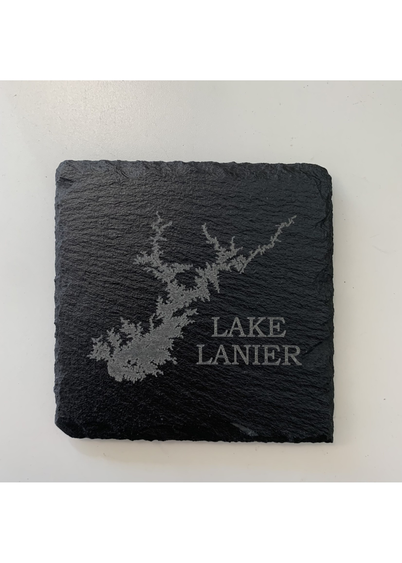 birch and boulder Lake Slate Coaster ( set of 4)