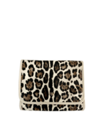 pursen Getaway Toiletry Case Cream Leopard