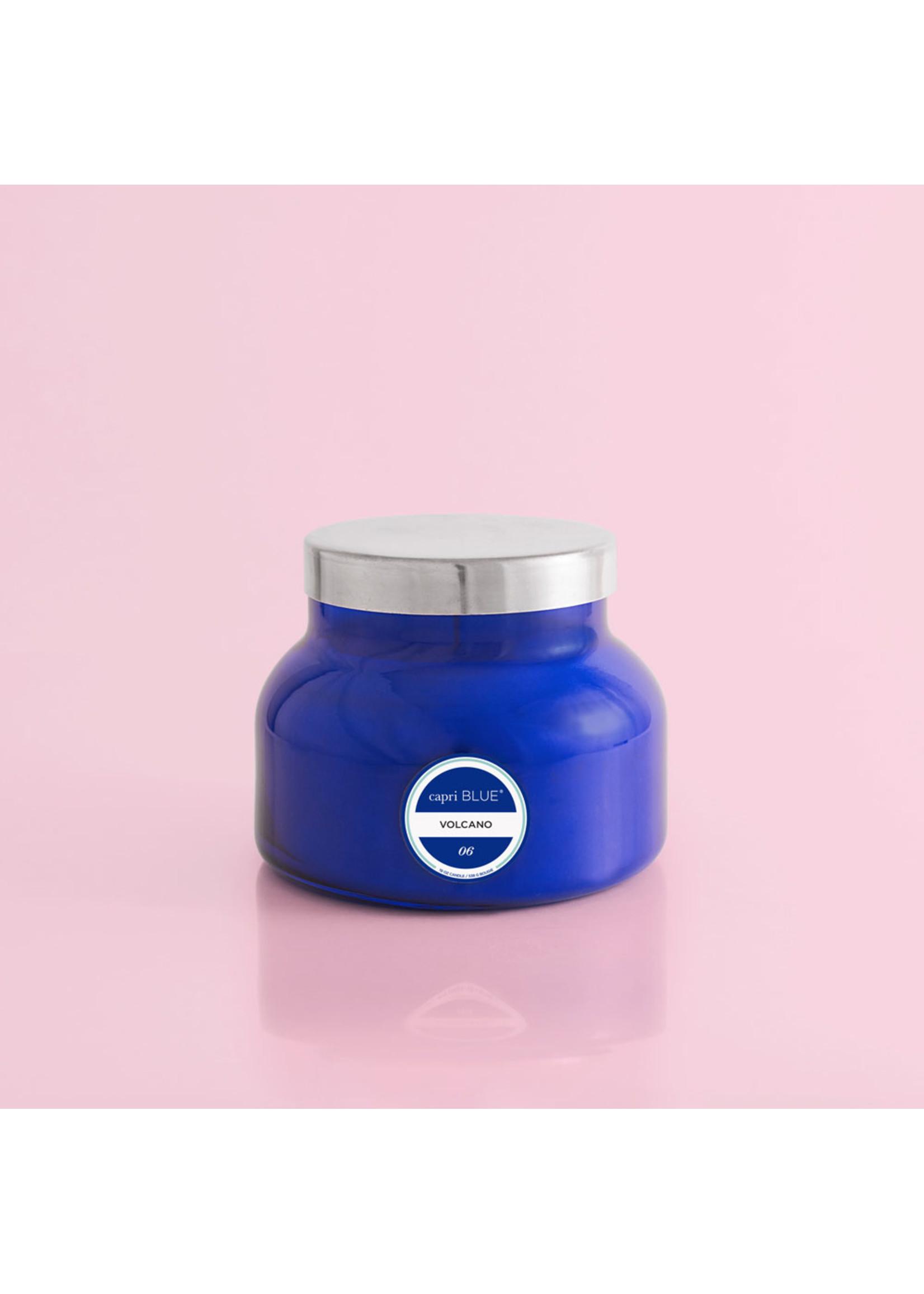 Capri Blue Volcano Blue Signature Jar