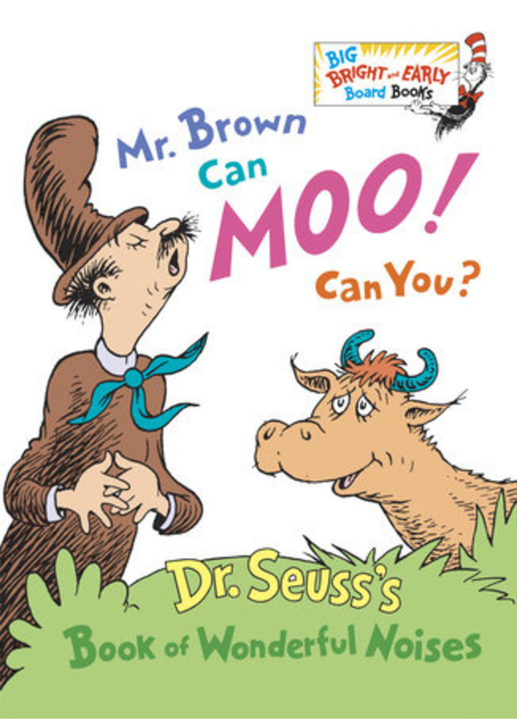 Penguin Dr. Seuss - Mr. Brown Can Moo! Can You? Board Book