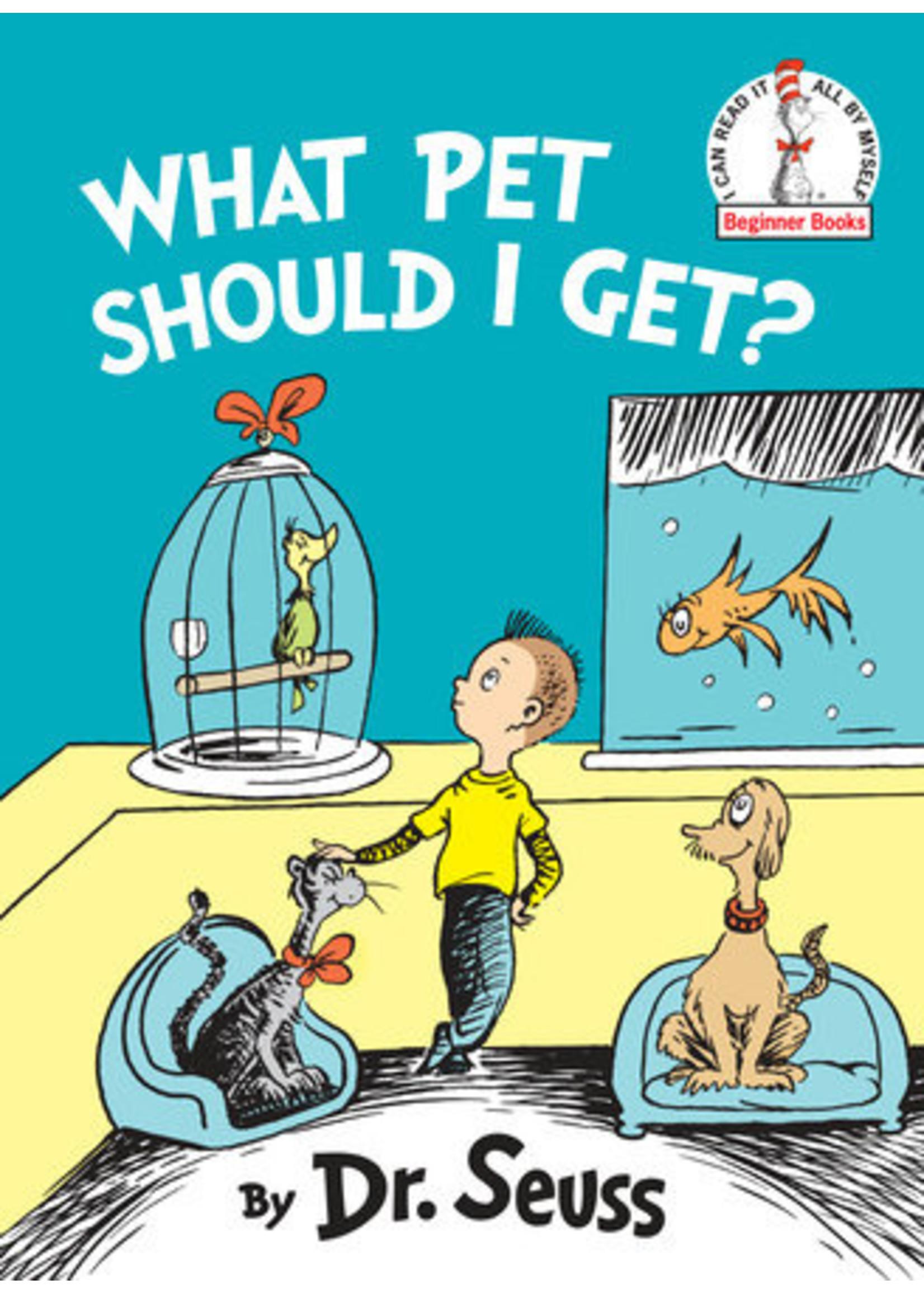 Penguin Dr. Seuss - What Pet Should I Get