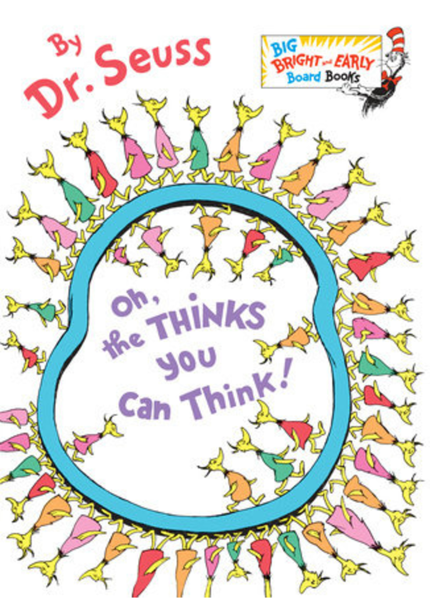 Penguin Dr. Seuss - Oh, the thinks you can think