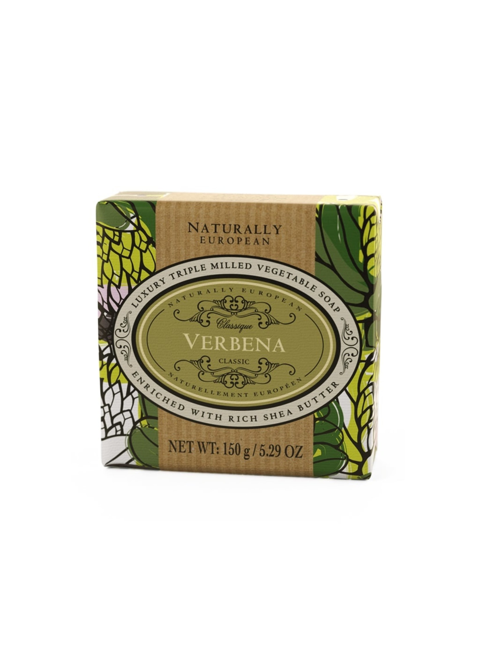 Naturally European Verbena Triple Milled Soap