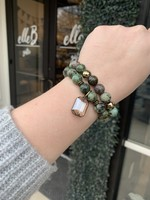 maryna Jade Stretch Bracelet