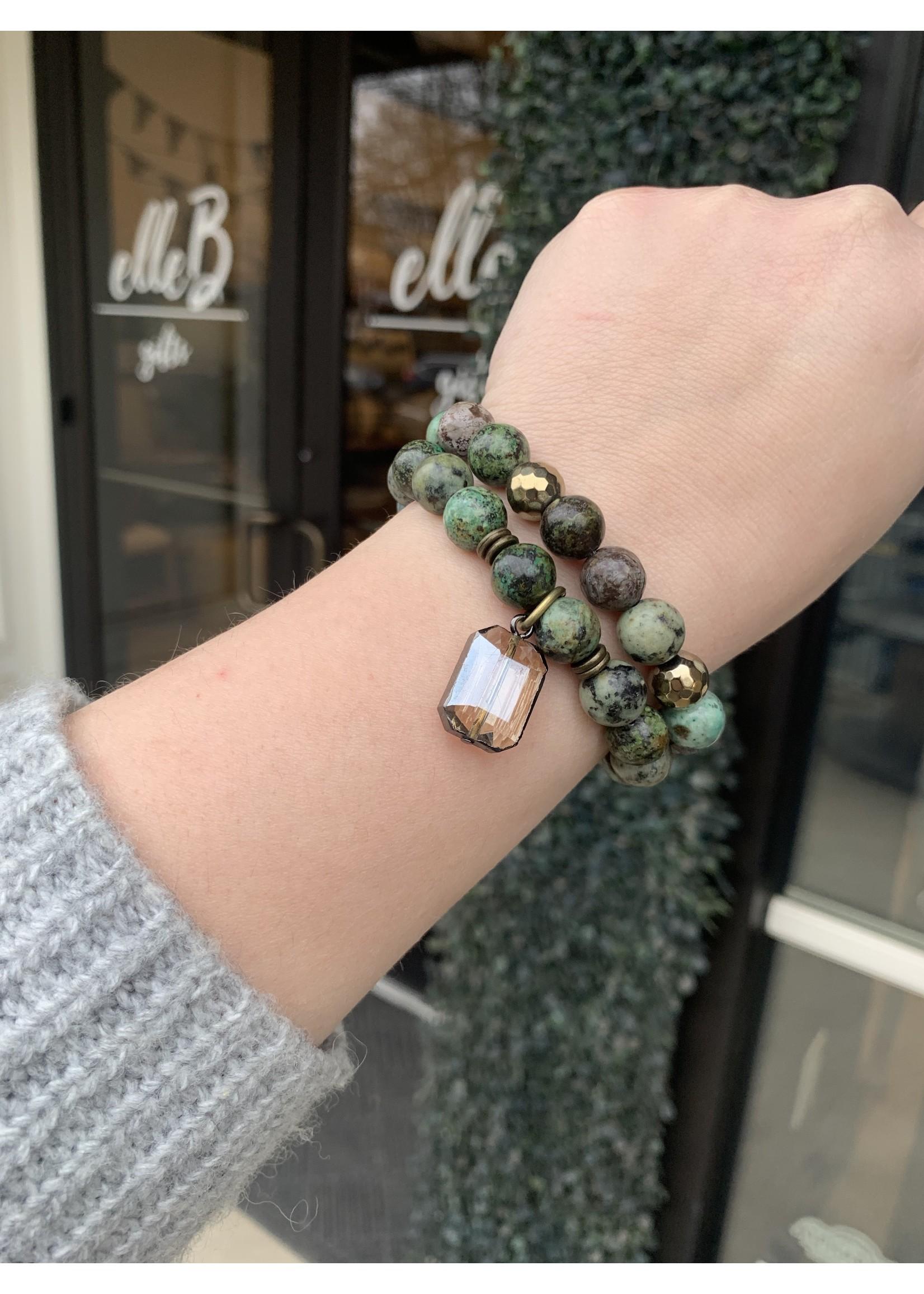 maryna Jade Stretch Bracelet