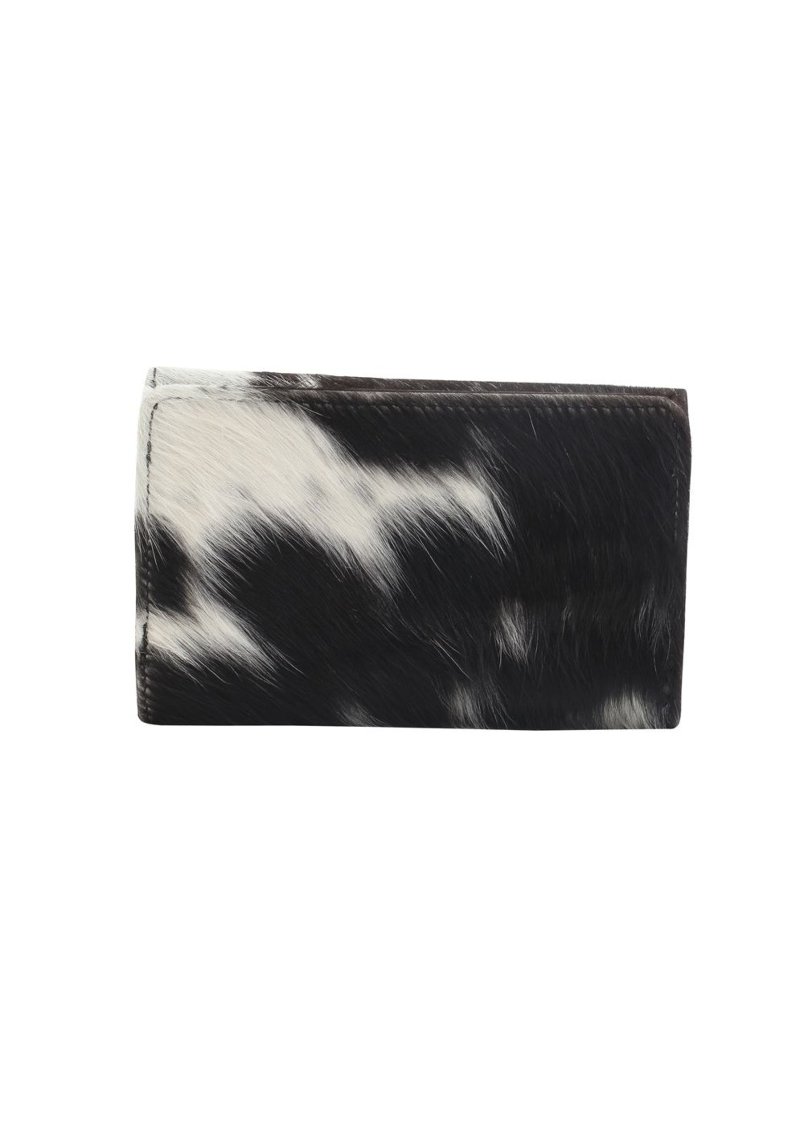 myra bags Fudge Factor Leather & Hairon Wallet