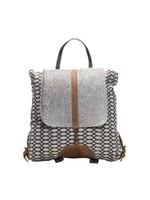 myra bags Honey Bee Print Backpack Bag
