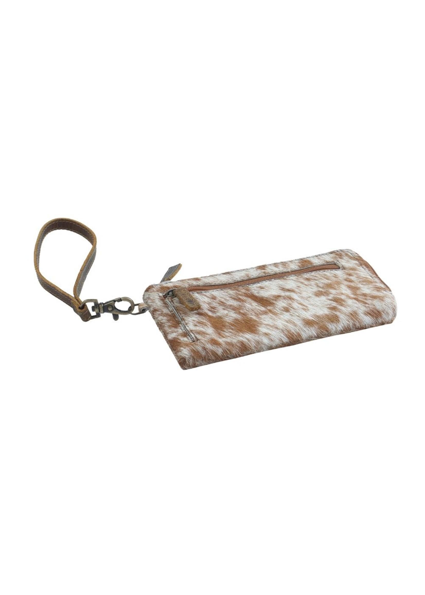 myra bags Sand on Beach Leather & Hairon Wallet