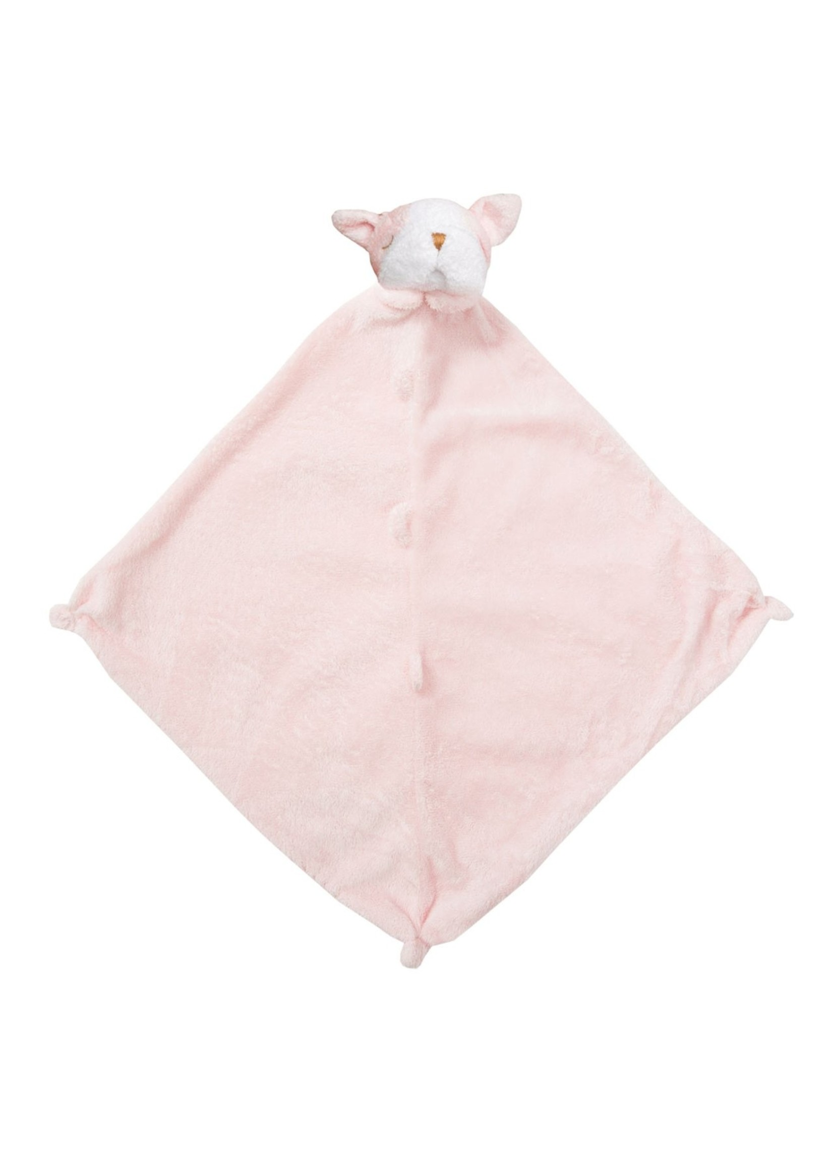 Angel Dear Angel Dear Blankie - Pink Bulldog