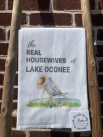 southern sisters Linen Towel Real Housewives of Lake Oconee