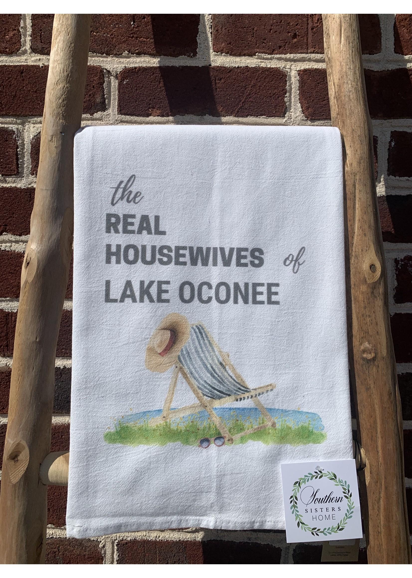southern sisters Linen Towel Real Housewives of Lake Oconee