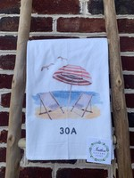 southern sisters Linen Towel 30A Beach Umbrella