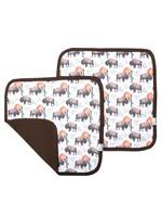 Copper pearl Security Blanket - Bison