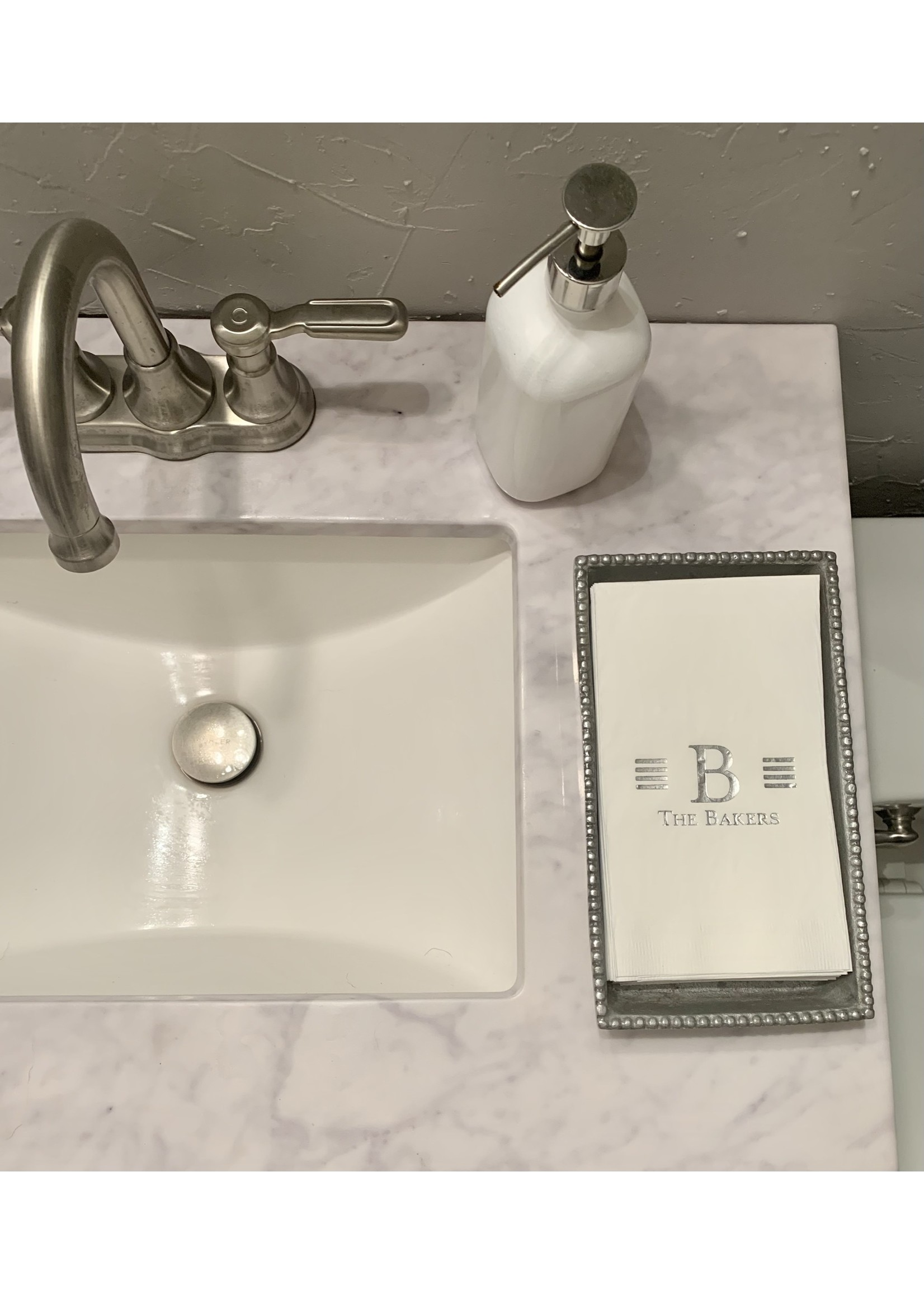 Embossed Graphics Millport Guest Towel Set of 100