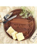 bigwood boards Wedding Wreath Cutting Board