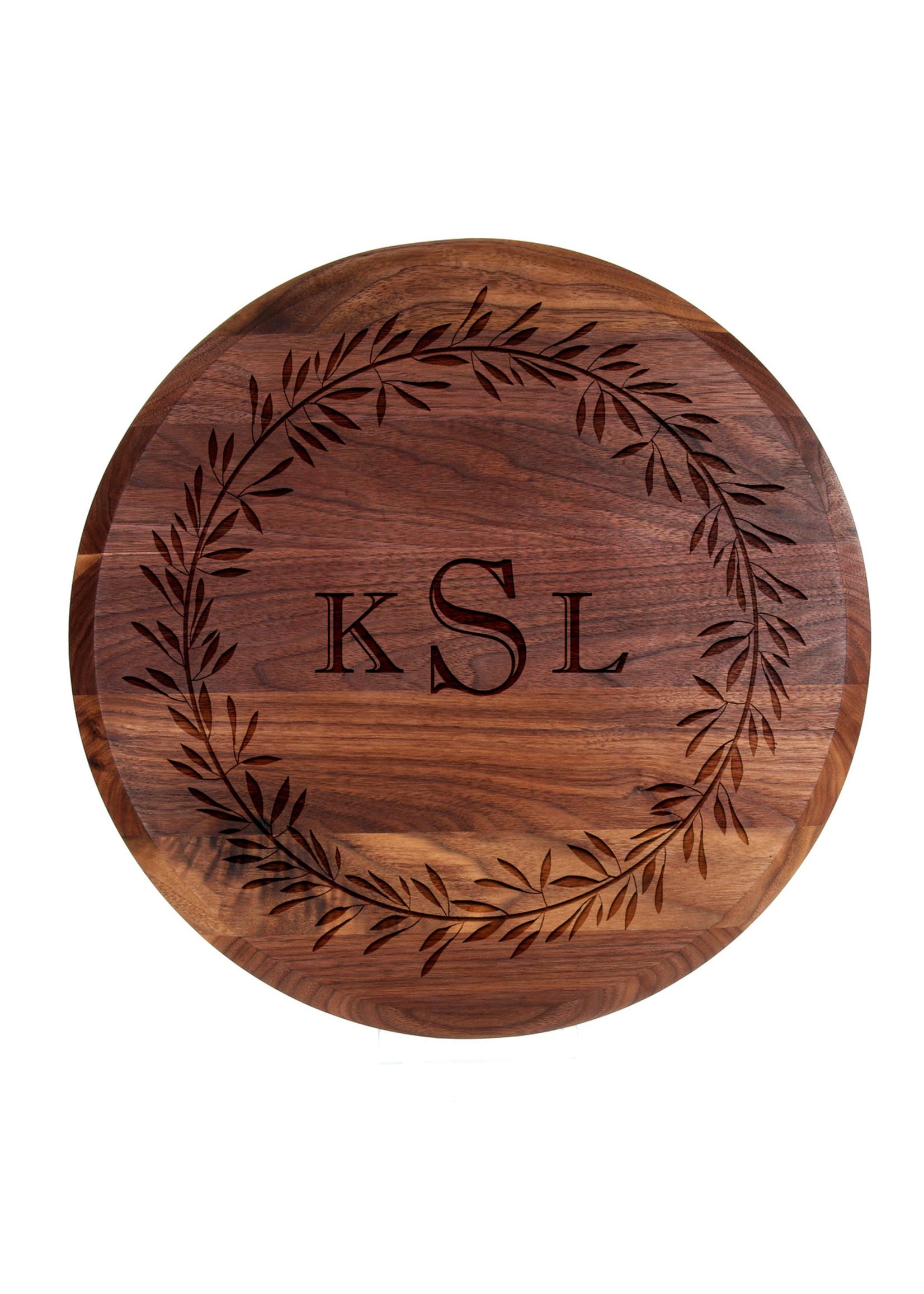bigwood boards Personalized Lazy Susie
