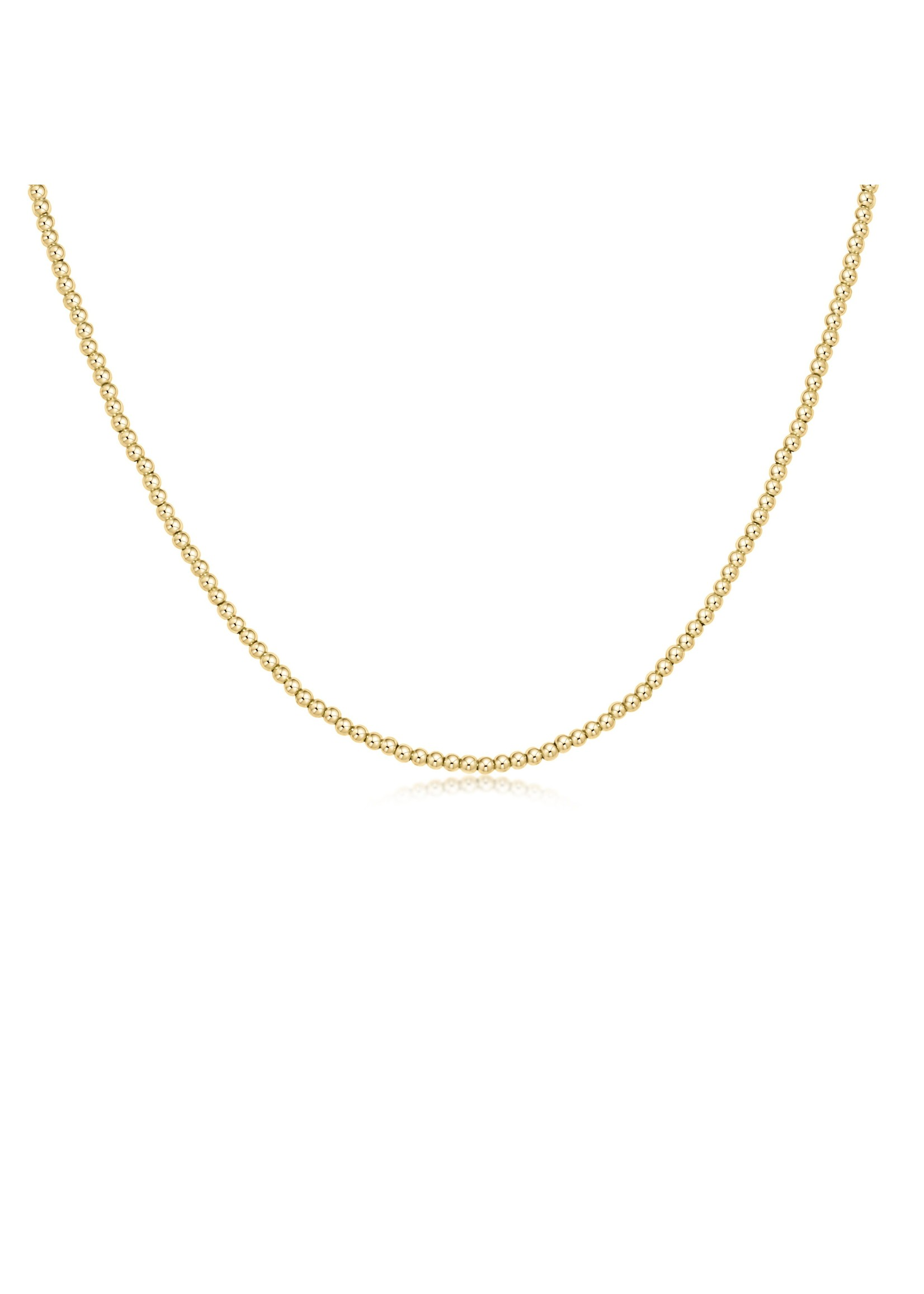 "enewton 15"" Choker Classic Gold 2mm Bead"