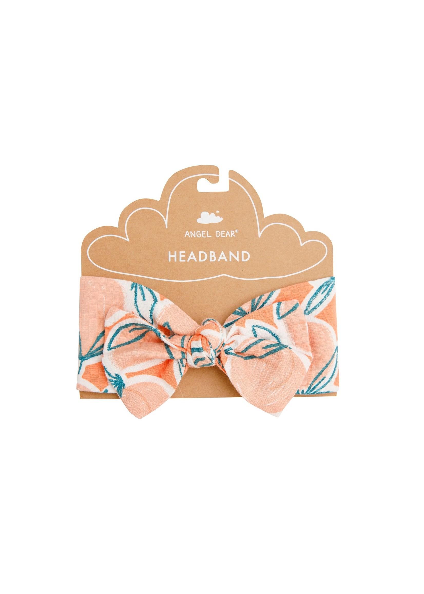 Angel Dear Peachy Cantaloupe Headband