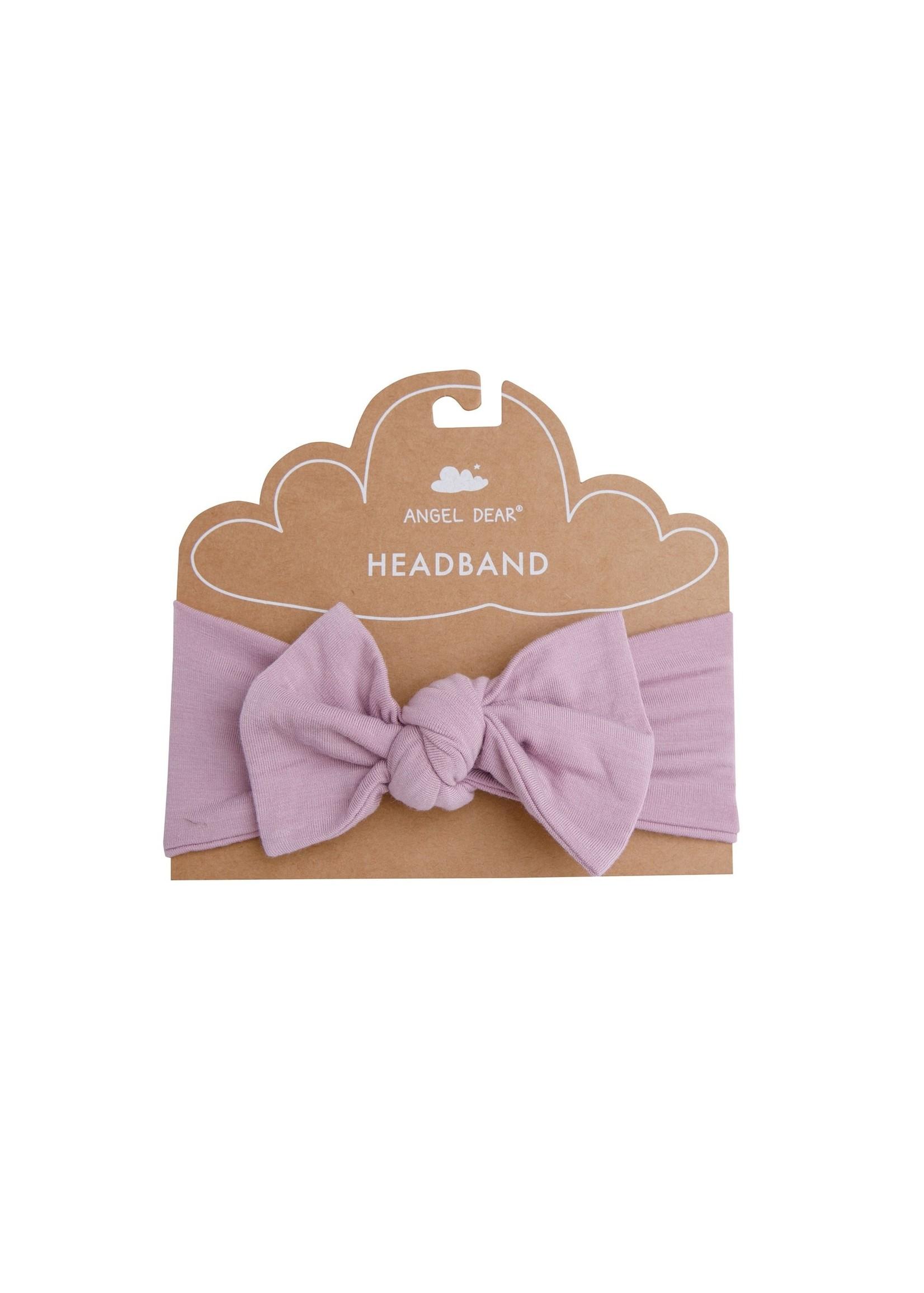 Angel Dear Modern Basics Headband Lilac