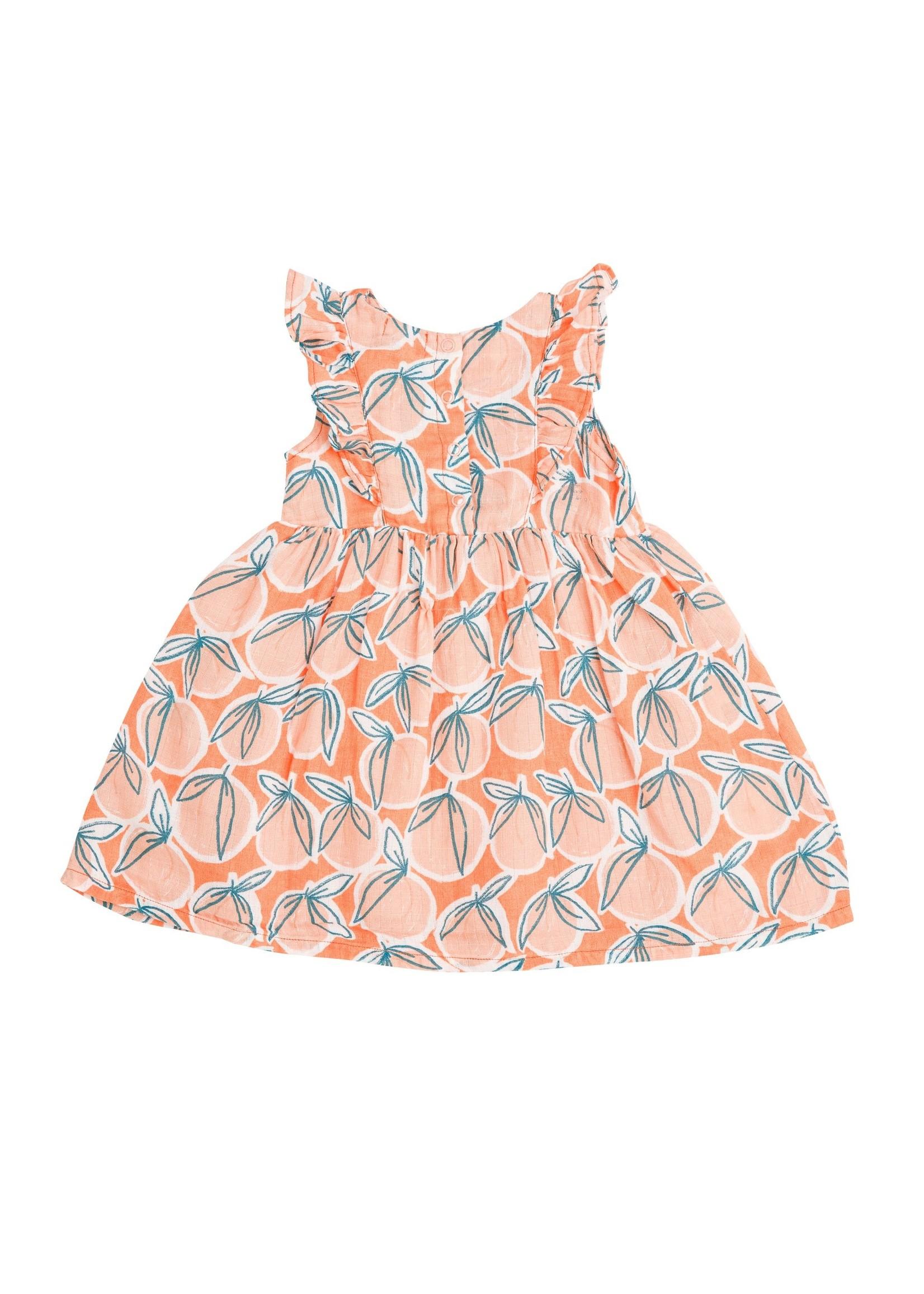 Angel Dear Peachy Sundress/Diaper Cover Cantaloupe